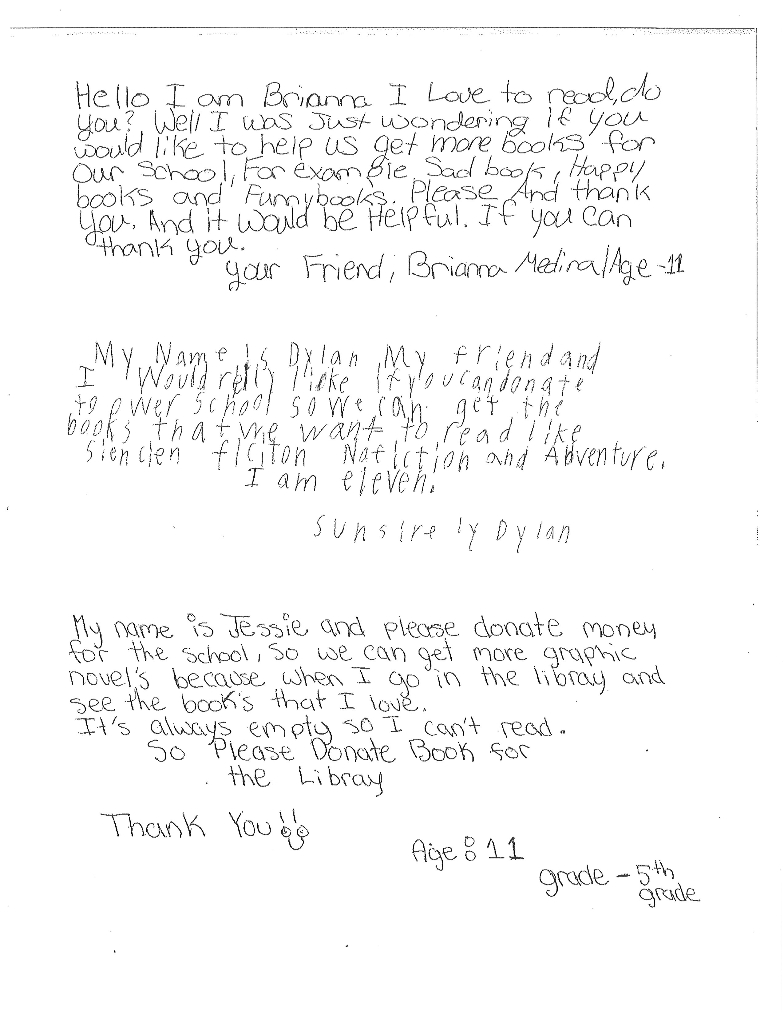 GLCPS Letters
